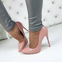 Стильные женские туфли-лодочки ка каблуке