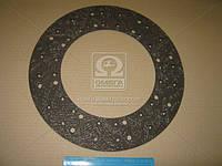Накладка диска сцепления 395x240x3,5 (фередо сверленый) (RIDER)