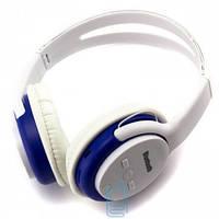 Bluetooth наушники с микрофоном MP3 BAT-5800E белые Код:21232