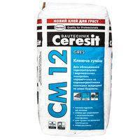 Клеющая смесь для плит из керамогранита Ceresit СМ12 25кг