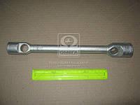 Ключ балонный ГАЗЕЛЬ, КАМАЗ (24х27) (цинк) (L= 350 мм) (производство г.Павлово) (арт. И-116ц), ABHZX