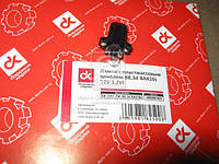 Лампа с пластмассовым цоколем B8,3d BAX10s 12V 1,2W   (арт. DK-12V1.2W_B8,3d BAX)