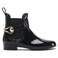 Черные женские резиновые ботинки 7FP2 CLS-13 BLACK