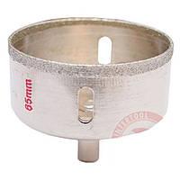 Коронка трубчатая по стеклу и керамике 65 мм INTERTOOL SD-0373 Код:242053501