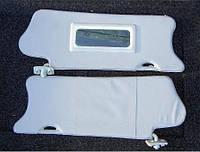 Козырьки солнце защитные с зеркалом ВАЗ-2110, 2111, 2112 завод Код:510631235