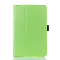 Чехол Подставка Leather для Lenovo IdeaTab A5500 зеленый