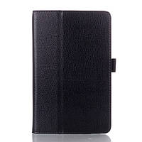 Чехол Подставка Leather для Lenovo IdeaTab A5500 черный