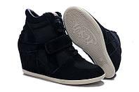 Кроссовки ASH Italia черные
