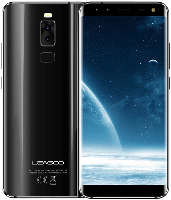 Leagoo S8   Черный   3/32 ГБ   8 ядра  