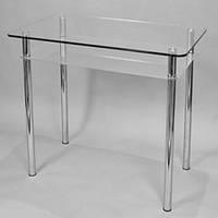 Обеденный стол из стекла Изи