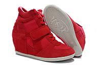 Кроссовки ASH Italia красные