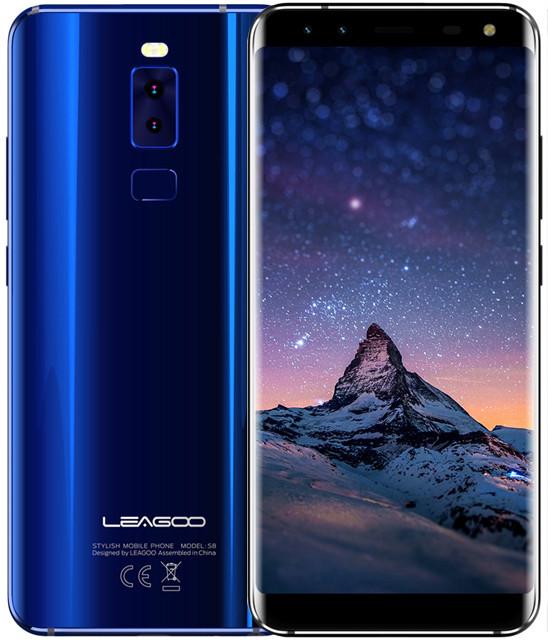 Leagoo S8   Синий   3/32 ГБ   8 ядра  