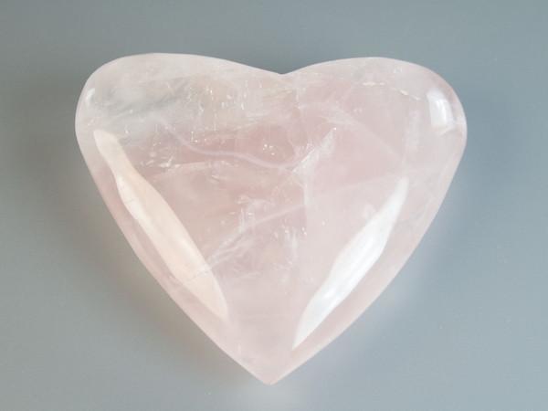 Фигурка Сердце розовый кварц