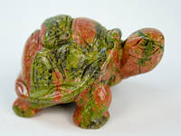 Фигурка Черепаха из яшмы