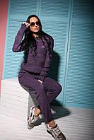 Женский модный вязаный костюм: свитер и брюки (5 цветов)