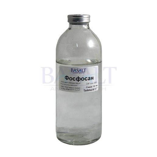 Фосфосан 200 мл (Базальт) общеукрепляющий и противоинтоксикационный ветеринарный препарат.