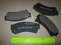Колодка тормозная MAZDA 6 передн. (производство Intelli) (арт. D515E), ABHZX