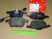 Колодка тормозная AUDI 100 (44, 44Q, C3, 4A, C4) передн. (производство TRW) (арт. GDB1049), AEHZX