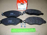 Колодка тормозной FORD TRANSIT (FD, FB, FS, FZ, FC) передний (Производство TRW) GDB1461