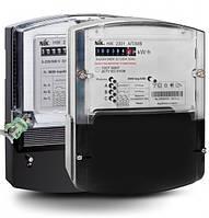 Счетчик электроэнергии НІК 2303 АРТ1 1100 5(10)А 100В 3-ф электронный однотарифный