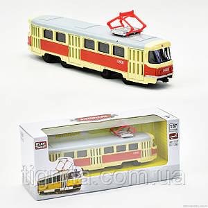 Модель Трамвая - автопарк