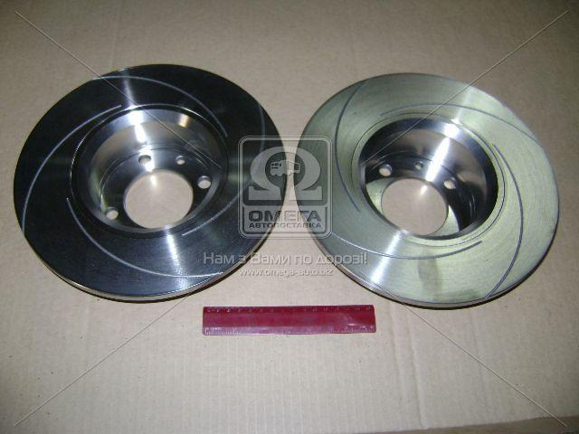 Диск тормозной ВАЗ 2101 передний  c канавкой (производство Автореал) (арт. 2101-3501070)