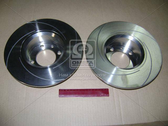 Диск тормозной ВАЗ 2101 передний  c канавкой (Производство Автореал) 2101-3501070