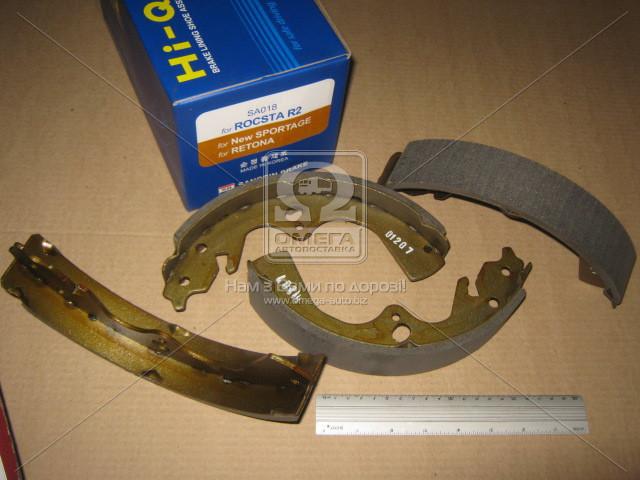 Колодка тормозная барабанная KIA SPORTAGE 2.0I/2.0TD 99-02 задн. (производство SANGSIN) (арт. SA018), ADHZX