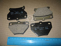Колодки тормозные задние Toyota Corolla, Vitz RS, Prius, ISeat 00-06 (производство MK Kashiyama) (арт. D2204M), ADHZX