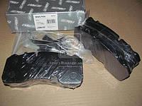 Колодка тормозная дисковая (комплект на ось) BPW SKH (RIDER) (арт. RD 29165PRO), AFHZX