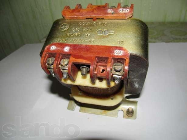 Трансформатор понижуючий сухий ОСМ1-0.16