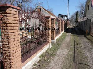 Кованые заборы, ворота, калитки