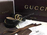 РеменьGucci  LUX качества натуральная кожа ,полный комплект. Ремень 1:1 соответствует оригиналу 1570