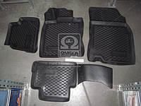 Коврики в салон автомобиля для Nissan Qashqai 2014 (3D)