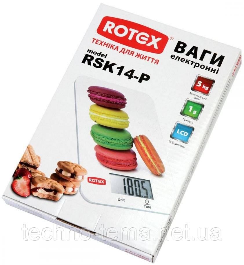 Ваги кухонні електронні ROTEX RSK14-P