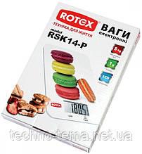 Весы кухонные электронные ROTEX RSK14-P