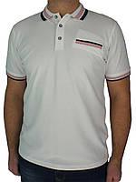 Молодіжна чоловіча теніска Tony Montana PL-3015 білого кольору