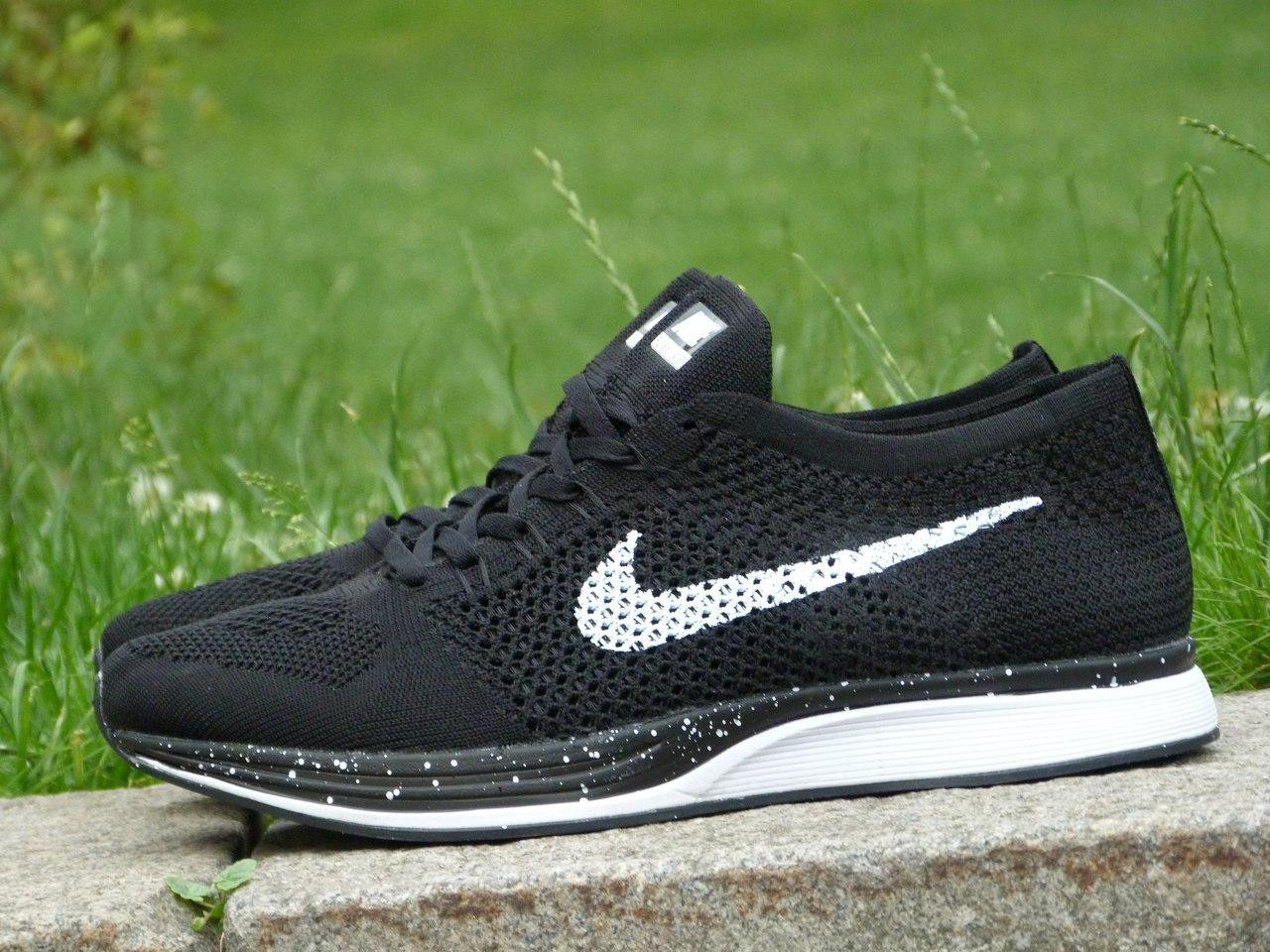965f58db7457 Кроссовки мужские для бега Nike Flyknit Racer (найк аир макс) (реплика) -