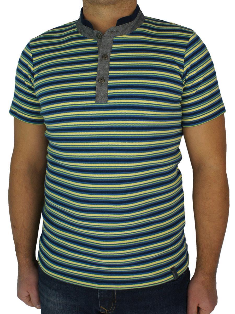 Польська чоловіча футболка Imako M: DALEBOR в смужку