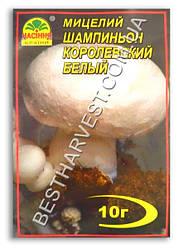 Мицелий «Шампиньон Королевский белый» 10 г
