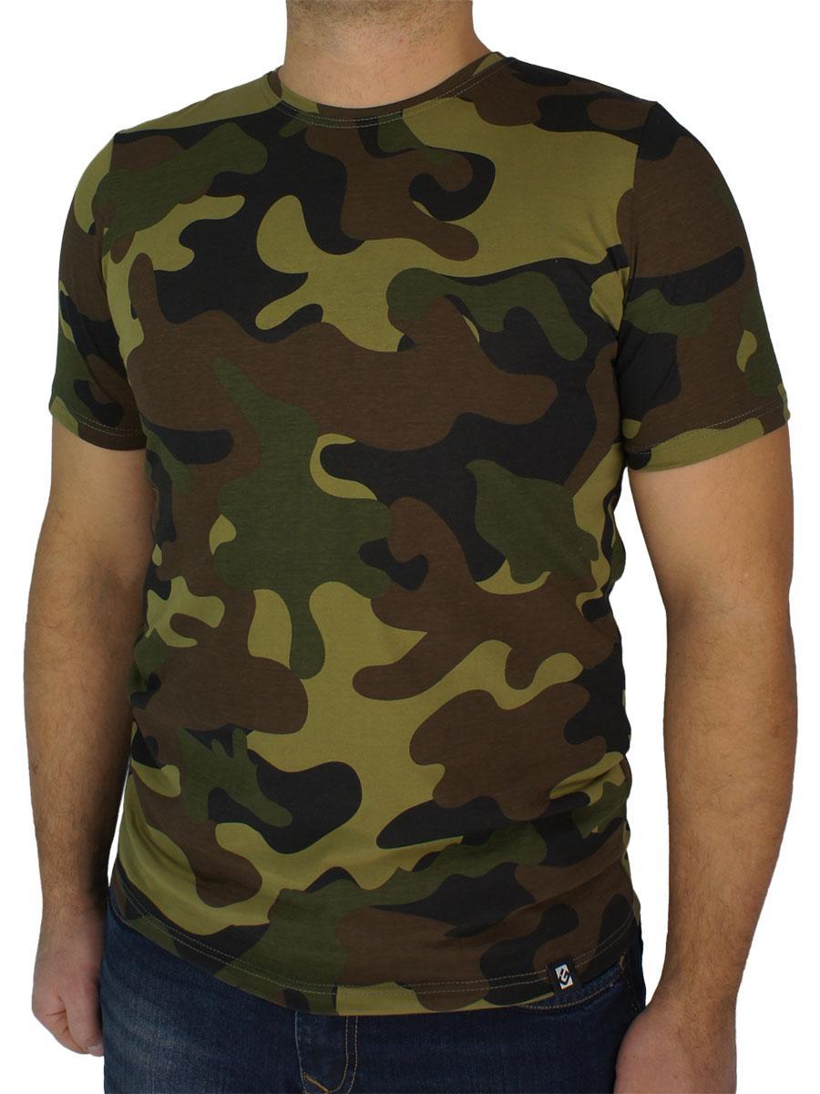 Стильная мужская футболка GT 5910 цвета хаки