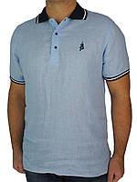 Мужская тенниска  Class Polo СР 02023 в голубом цвете.