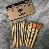 Набор из 12 кистей кисточек для макияжа Kylie