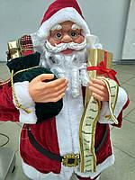 Игрушка новогодняя Санта Клаус (дед мороз) (80 см)