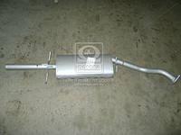 Глушитель DAEWOO LANOS (CHEVROLET LANOS) закатной (Производство Ижора) 96182257
