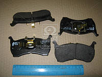 Колодка торм. MAZDA 626 2.0 2.0D -87 передн. (пр-во REMSA)