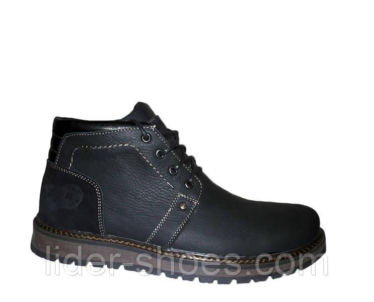 Мужские зимние ботинки натуральная кожа