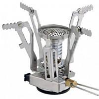 Горелка газовая складная с пьезо Tramp TRG-009 из нержавеющей качественной стали. Доступная цена. Код: КГ2803