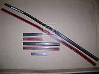 Молдинг бампера ВАЗ VESTA хром верхний левый (производство Пластик) (арт. 8450008670)