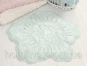 Коврик для ванной Irya Rosalinda 100*100 зеленый
